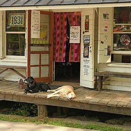 Rabbit Hash General Store Entrance by Robert Tubesing