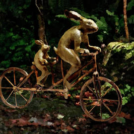 Rabbits Tandem Bicycle Race by Portraits By NC