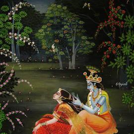 Radha Krishna  by Anjali Swami