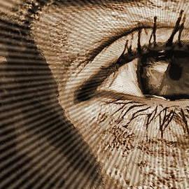 Radial Waves Eye by Yorgos Daskalakis