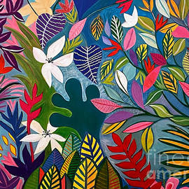 Rae's Garden 1 by A Hillman