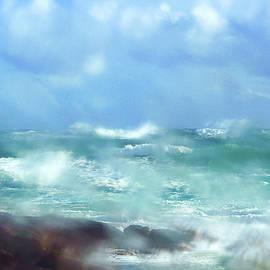 Rain and Ocean by Angelika Vogel