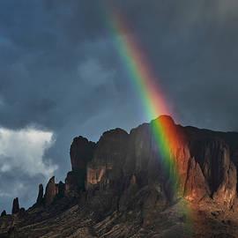 Rain And Rainbows Over The Supes  by Saija Lehtonen
