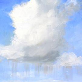 Rain Cloud Landscape by Nancy Merkle