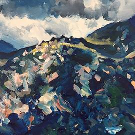 Rain Washed California Mountains by Danielle Rosaria