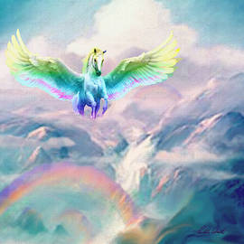 Rainbow Canyon Pegasus by Michele Avanti