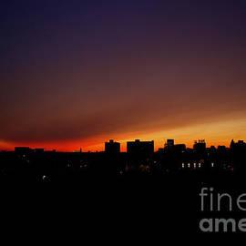 Rainbow Horizon Philadelphia by Clay Cofer