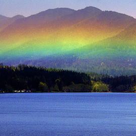 Rainbow Ridge Vista by Douglas Taylor