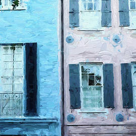 Rainbow Row 4 - Charleston by Allen Beatty