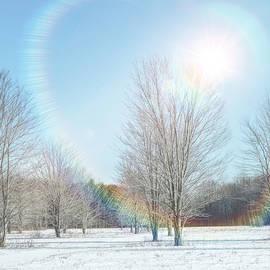 Rainbow Sun Halo  by Susan Hope Finley