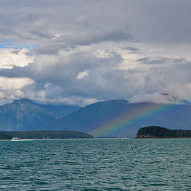 Rainbow - The Inside Passage Alaska-2 by Alex Vishnevsky
