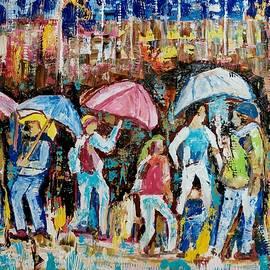 Raininy Day In New York by Anand Swaroop Manchiraju