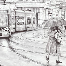 Rainy Day by Andrey Poletaev