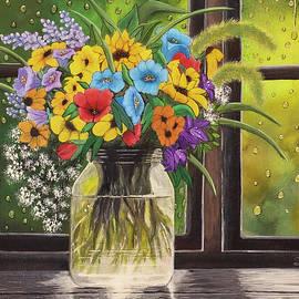Rainy Day by Shirley Dutchkowski