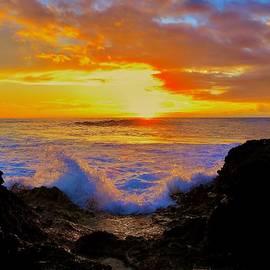 Raising Tide at Sunset by Craig Wood