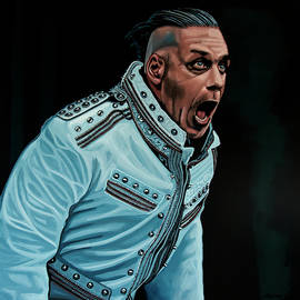 Rammstein Painting by Paul Meijering