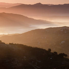 Ramona Valley Layered Hills by William Dunigan