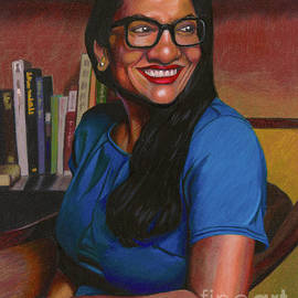 Rashida Tlaib by Philippe Thomas