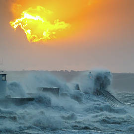 Ray of light during Storm Ciara by Stephen Jenkins