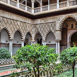 Real Alcazar 6 - Seville by Allen Beatty