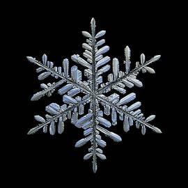 Real snowflake 2018-12-18_5 by Alexey Kljatov