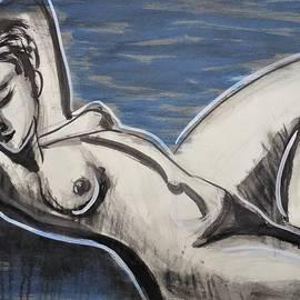 Reclining Nude 1 by Carmen Tyrrell