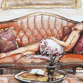 Recumbent  by Steve Henderson