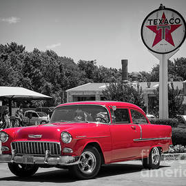 Red '55 Chevy by Paul Quinn