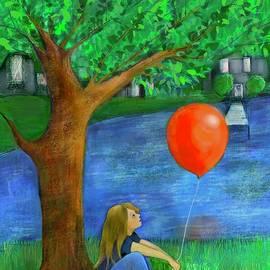 Red Balloon by Suki Michelle
