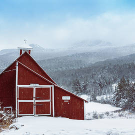 Red Barn #2 by Dave Schmidt