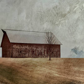 Red Barn by Janet Duffey