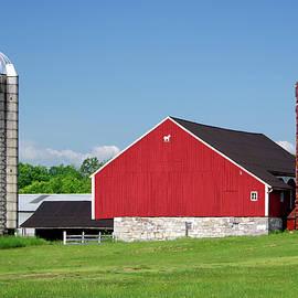 Red Barn, Rural Pennsylvania by Douglas Taylor