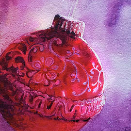 Red Bauble- Christmas decorations by Ramesh Nair