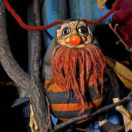 Red Beard and Red Nose- a traditional Czech puppet in Prague by Terence Kerr