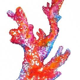 Red Coral by Carlin Blahnik CarlinArtWatercolor