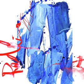 Red Line Blues # 1 by Zeb Eddy