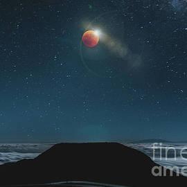 Red Lunar Rising by RJ Bridges