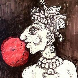 Red Moon Tribe by Geraldine Myszenski