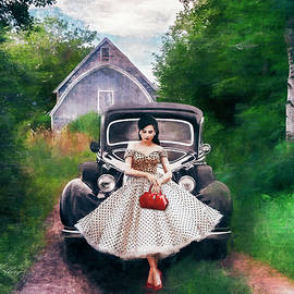 Red Purse by Anita Hubbard
