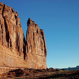 Red Rock Monolith at Arches by S Katz