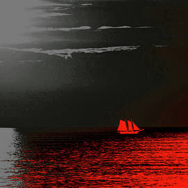 Red Sail by Susan Maxwell Schmidt