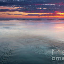 Red Sky Reflections by Mike Dawson