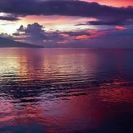 Red Tahitian Sunrise by Heidi Fickinger