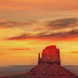Red Tip Sunset by Dave Bowman