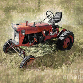 Red Tractor by Anthony Ellis