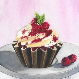 Red Velvet Cupcake by Swati Singh