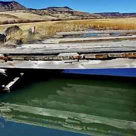 Reflected crossing  by Marla Steinke