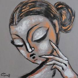 Reflecting Muse - Portrait by Carmen Tyrrell