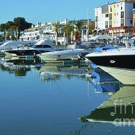 Reflecting On Vilamoura, Portugal by Poet's Eye