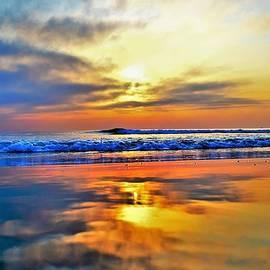 Reflection by Camera Paintbrush